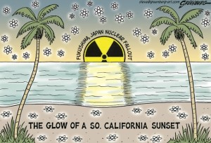 California Fukushima Radioactive Sunset